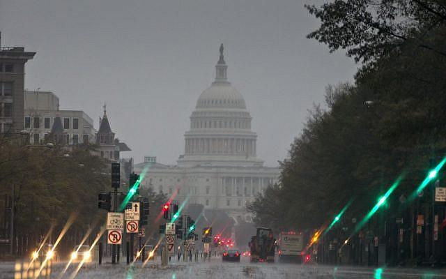 The US Capitol and Pennsylvania Avenue,file  (AP Photo/J. Scott Applewhite)