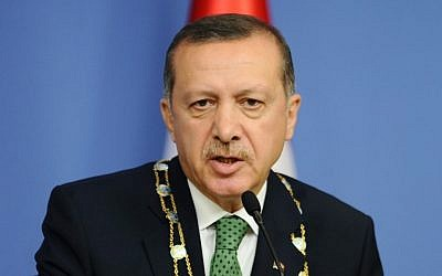 Turkish Prime Minister Recep Tayyip Erdogan (photo credit: AP/File)