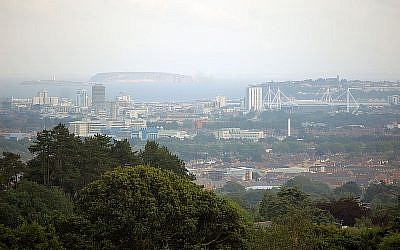 Cardiff skyline (photo credit CC BY SA Ashley0690/Wikipedia)