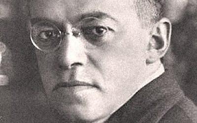 Zeev Jabotinsky (photo credit: Wikimedia Commons)