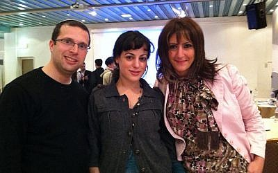 Boshra with fellow Faces of Israel participants (photo: courtesy)