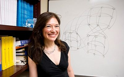Columbia University mathematician Maria Chudnovsky (photo credit: Courtesy of the John D. & Catherine T. MacArthur Foundation)