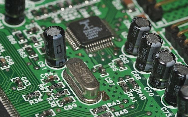 Computer motherboard (photo credit: Shay Levy/ Flash 90)