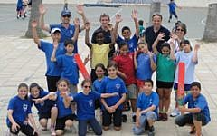 Participants in the Israel Cricket Association's Cricket4peace program (photo credit: ICA)