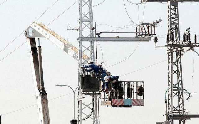 At risk? Israel's electric grid (photo credit: Roni Schutzer/Flash 90)
