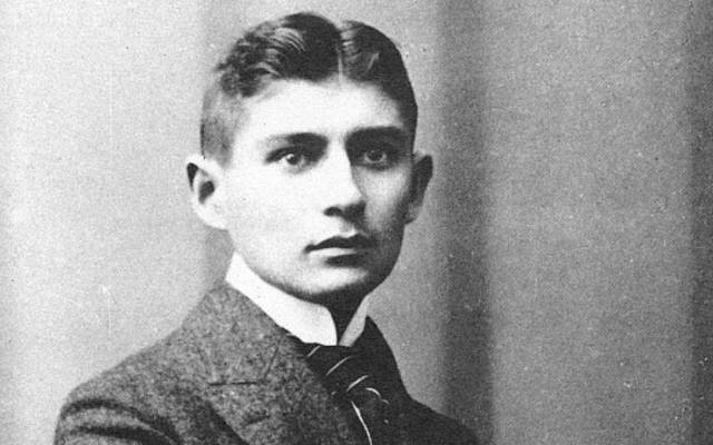 Franz Kafka in 1906 (public domain)