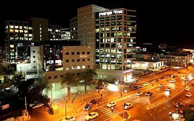 The Herzliya Pituach industrial zone, home to many Israeli high-tech companies (photo credit: Moshe Shai/Flash90)