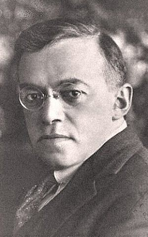Zeev Jabotinsky, the founder of Revisionist Zionism, was a firm believer in the power of words (Photo credit: Wikimedia Commons)