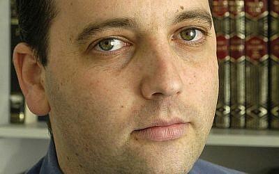 Reform movement head Gilad Kariv (photo credit: Israel Movement for Progressive Judaism/Wikipedia)