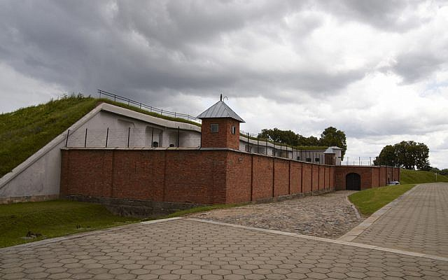 The Ninth Fort in Kaunas, Lithuania, which came to be known as the 'Fort of Death' during World War II, when it served for the murder of over 10,000 Jews by Nazis and their Lithuanian collaborators.