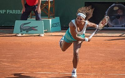 Serena Williams at the 2012 Roland Garros (photo credit: CC-BY-SA y.caradec/Flickr)