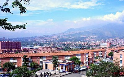 Panorama of Bello, Columbia (photo credit: CC BY Joselph22/Wikipedia)