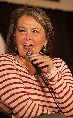 Roseanne Barr (photo credit: CC-BY-SA Leah Barr, Wikimedia Commons)