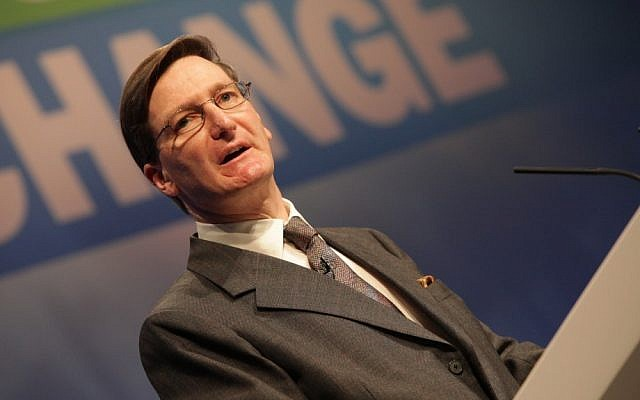 Dominic Grieve at a Conservative Party event in 2010 (photo credit: Paul Toeman)