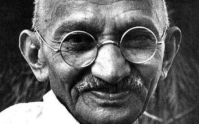 Mahatma Gandhi (photo credit: Wikimedia Commons)
