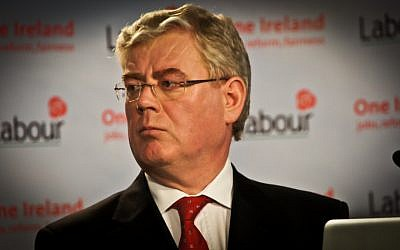 Irish Foreign Minister Eamon Gilmore. (photo credit: CC-BY-SA infomatique/Flickr)