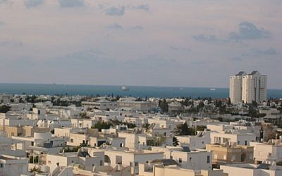 A rooftop view of the coastal city of Ashdod. (photo credit: Public Domain, Wikimedia Commons)