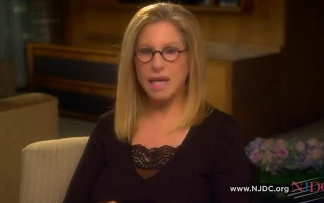 Well-known for her Democratic politics, Barbra Streisand says she's voting for President Obama. (Photo credit: YouTube screenshot)