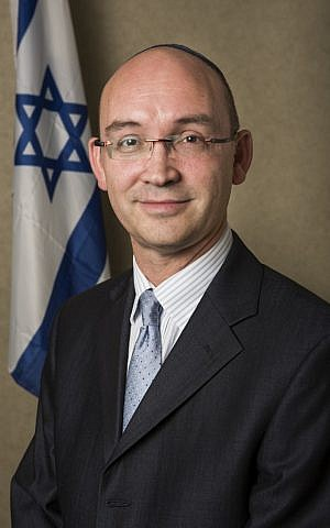 The author of the report, DJ Schneeweiss, currently Israel's consul-general in Toronto (photo credit: courtesy embassies.gov.il)