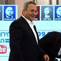 Ehud Barak and Tzipi Livni, pictured in 2009 (Photo credit: Gil Yohanan/Flash90)