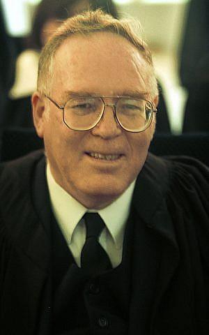 Judge Moshe Drori, September, 2001. (photo credit: Flash90)