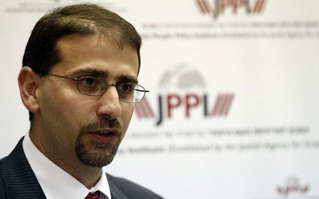 US Ambassador to Israel, Daniel Shapiro, at a conference in Jerusalem, September 6, 2011 (photo credit: Uri Lenz/Flash90)