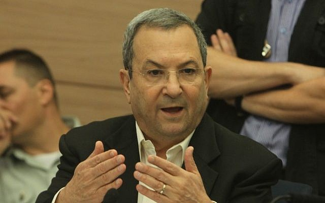 Defense Minister Ehud Barak attends a Knesset committee meeting in October (photo credit: Miriam Alster/Flash90)