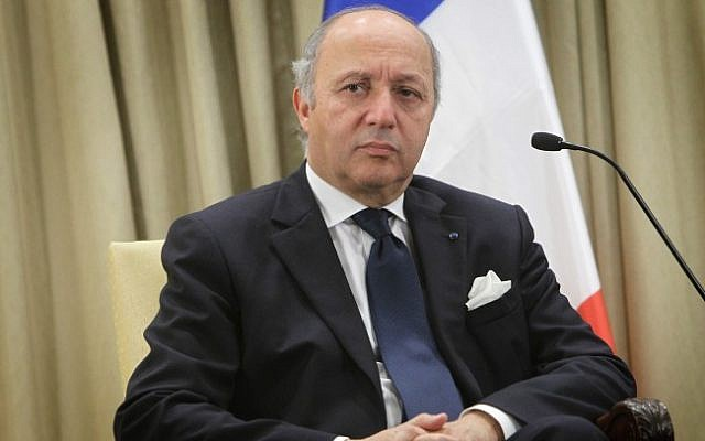 Laurent Fabius (photo credit: Miriam Alster/Flash90)