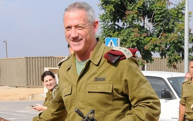 IDF Chief of Staff Benny Gantz (photo credit: Yosi Zeliger/Flash90)