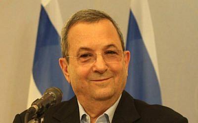 Defense Minister Ehud Barak, November 2012. (photo credit: Roni Schutzer/Flash90)