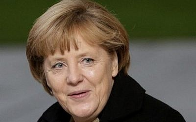 German Chancellor Angela Merkel (photo credit: AP/Michael Sohn)
