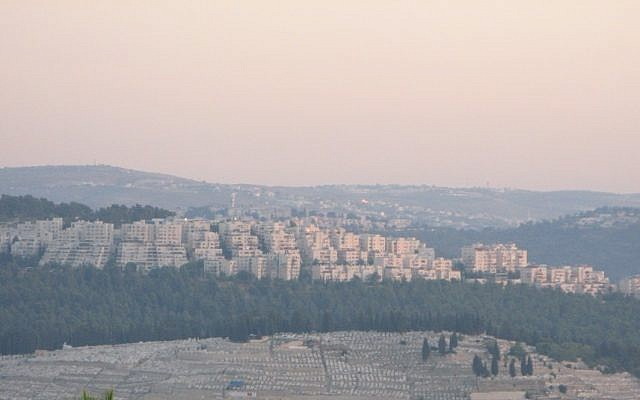 The Har Nof neighborhood in Jerusalem (photo credit: Nati Shohat/Flash90)