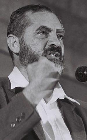 Rabbi Meir Kahane (photo credit: Yossi Zamir/Flash90)