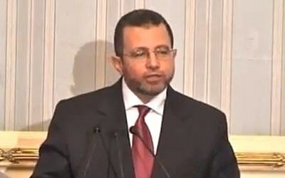 Egyptian Prime Minister Hisham Kandil (photo credit: Youtube image grab)