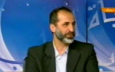 Syrian opposition coalition leader Sheikh Mouaz Al-Khatib (photo credit: Youtube image grab)