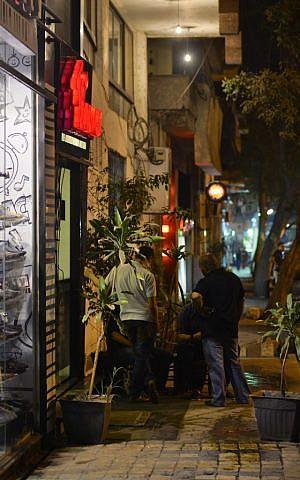 A Cairo street at night. (photo credit: AP)