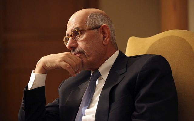 Mohammed ElBaradei (photo credit: AP/Thomas Hartwell)