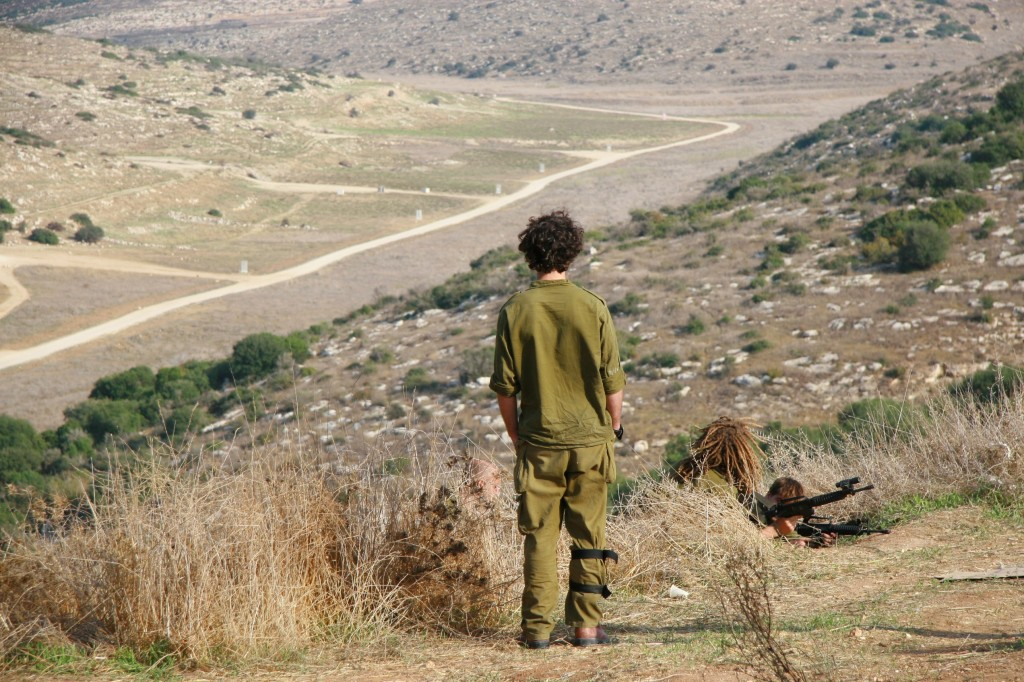 Field training in advance of a possible mission in Gaza (Photo credit: Alon)