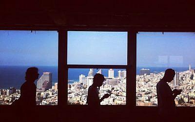 Shalom Tower, Tel Aviv (photo credit: Carli Kiene)