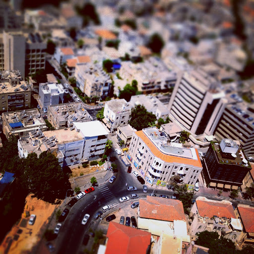 View from Shalom Tower, Tel Aviv (photo credit: Dave Temple)