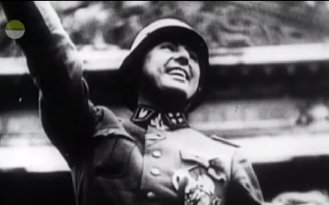 Leon Degrelle (Screen capture, YouTube)