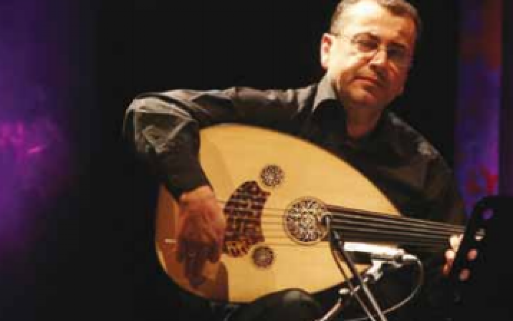 Professor Taiseer Elias, performing again at this year's Oud Festival (photo credit: Publicity)