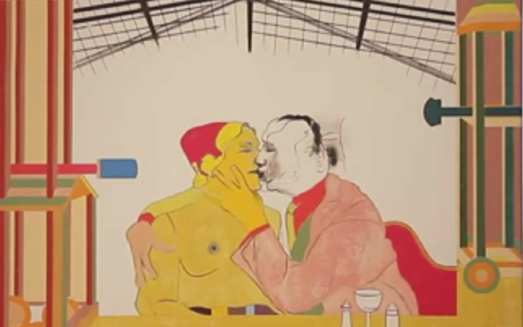 R.B. Kitaj (photo credit: image capture, YouTube)