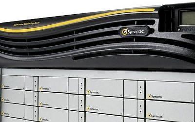Symantec NetBackup 5220 security appliance (Photo credit: Courtesy)