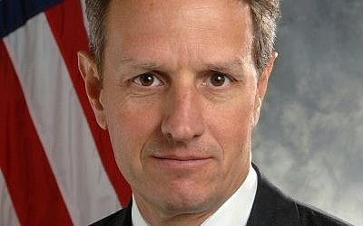 US Treasury Secretary Timothy Geithner (photo credit: US Dept. of the Treasury)