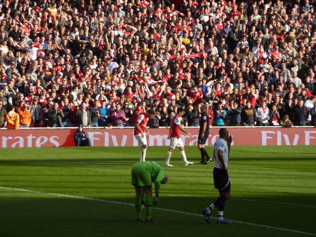 Fußball Tottenham Hotspur Anhänger