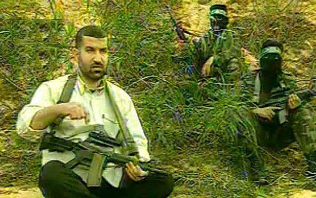 Slain Hamas military leader Ahmed Jabari (photo credit: YouTube screen capture)