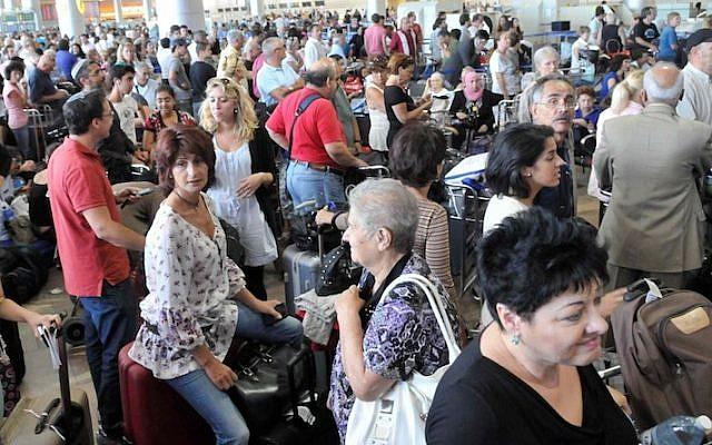 Ben-Gurion Airport (Yossi Zeliger/Flash90)