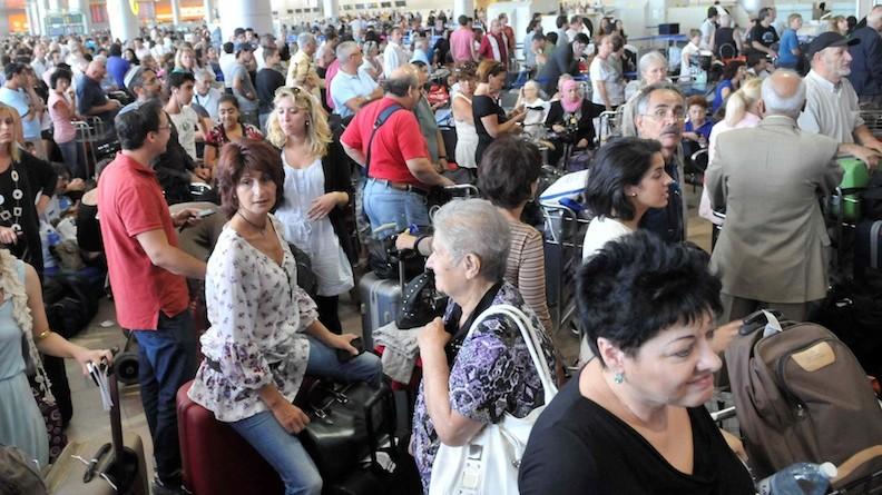 Ben Gurion Airport strike, 2018,TLV, Tel Aviv airport ...