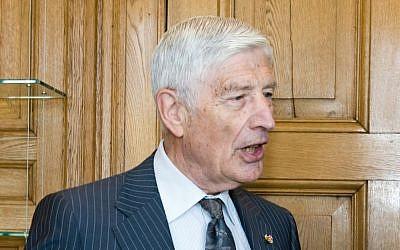 Former Dutch prime minister Dries van Agt (CC BY Heden en verleden in het Torentje, Wikimedia Commons)